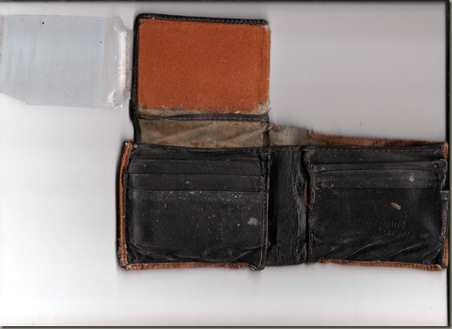 Old Wallet Interior