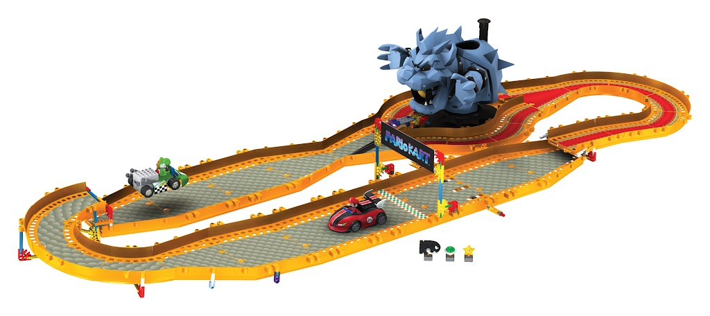 mega bloks race track instructions