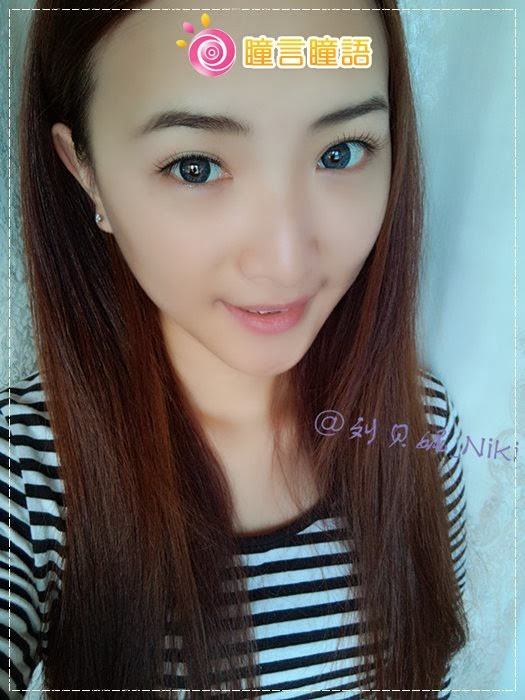 韓國GEO隱形眼鏡-GEO Sparkling 火花四色藍12