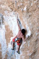 Mauro Calibani alla Grotta dei Santi