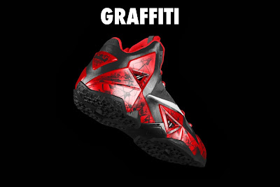 nike lebron 11 id graffiti 4 20 NIKEiD LeBron XI Graffiti in 7 Different Ways