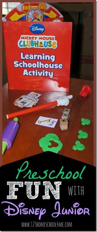 Preschool Fun with Disney Junior back to School Products! #Ready4Preschool  #shop