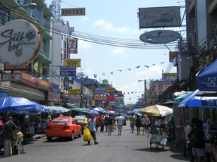 Khao San road not quite so bad during the day