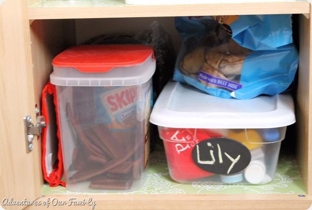 kitchen organization lily shelf