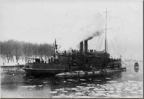 HMS Hvalen and HMS Skäggald - 1915