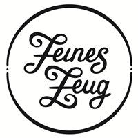 Logo Feines Zeug mit Kreis