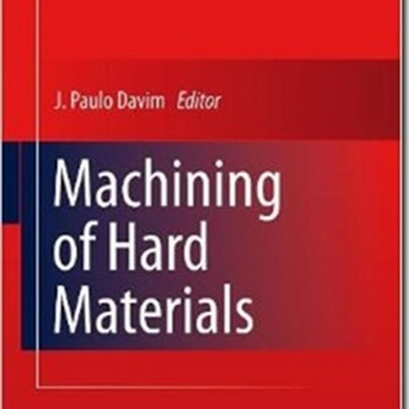 J. Paulo Davim - Machining of Hard Materials