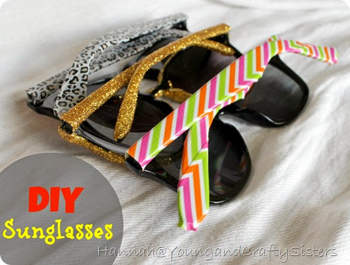 DIY Sunglasses 1