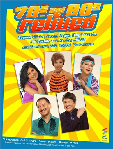 "... titled ""70s and 80s Relived"" at the Music Museum on June 29 and July 6, ..."
