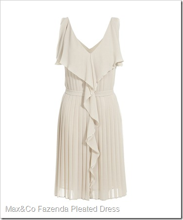 Max&Co Fazenda Pleated Dress
