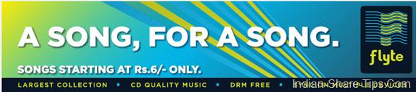 flipkart selling songs