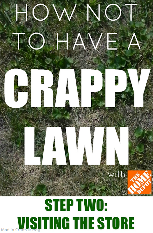 How Not to Have a Crappy Lawn STEP 2