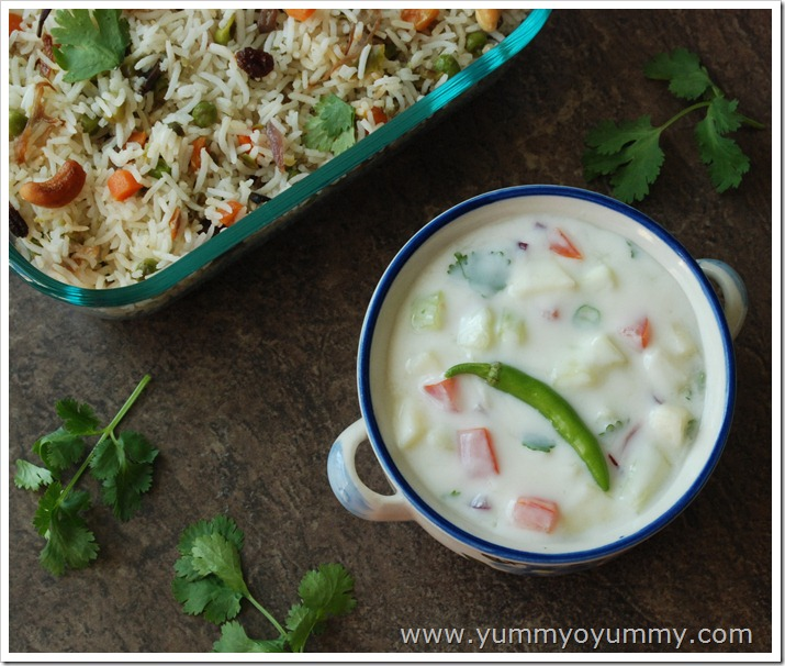 Green Apple Raita