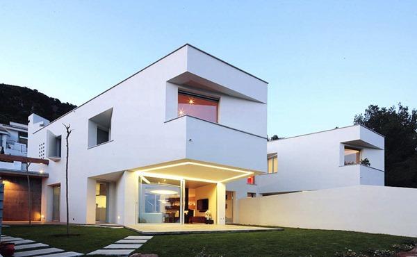 Casa minimalista ripolles manrique teo hidalgo n cher - Casas minimalistas en espana ...