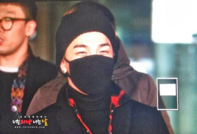 Big Bang - Incheon Airport - 16dec2013 - Tae Yang - Fan - Urthesun - 01.jpg