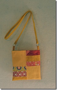 yellow swing bag
