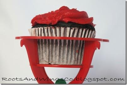 flower cupcake holder d