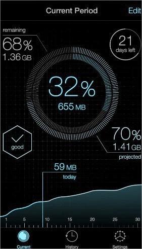 19 increíbles interfaces de aplicaciones móviles hechas para iOS 7 10