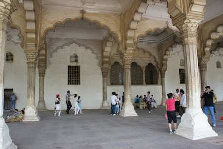 Interior Red Fort Agra