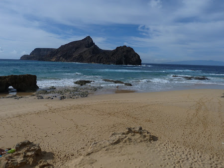 Imagini Madeira: plaja Porto Santo