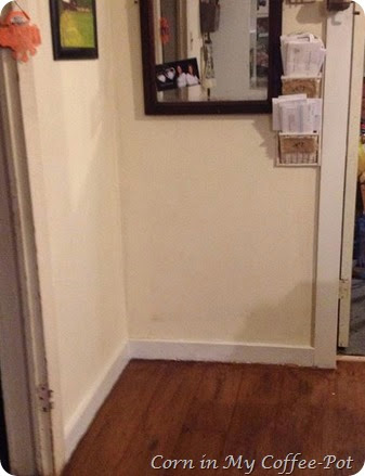 painting floor trim