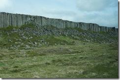 Gerduberg basalt column cliff