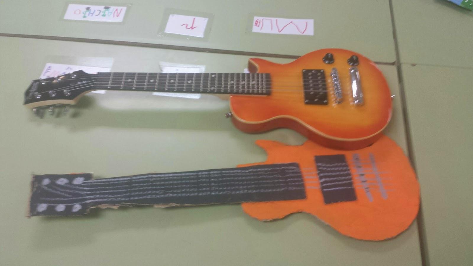 HERMANITOS MARX: Nuestras guitarras