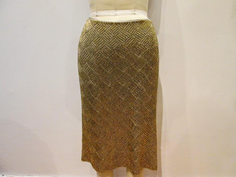 Ralph Lauren Black Label Sequined Skirt