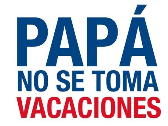 papa no se toma vacaciones boca river 2012