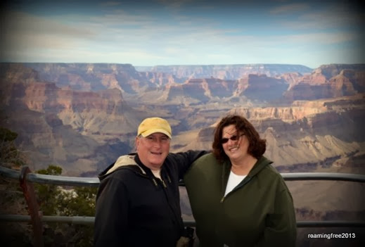 Tom & Marci at the Grand Canyon