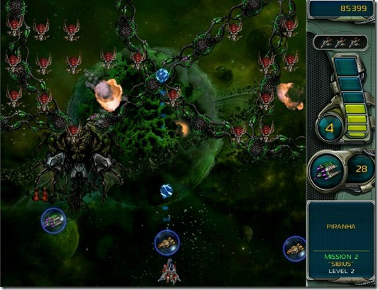 Star Defender 3 free full game image 4