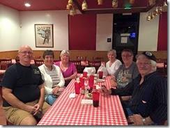 The Pio Pico dinner