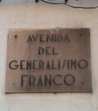 AVENIDA GENERALSIMO FRANCO