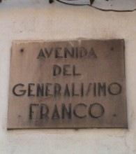 AVENIDA GENERALSIMO FRANCO