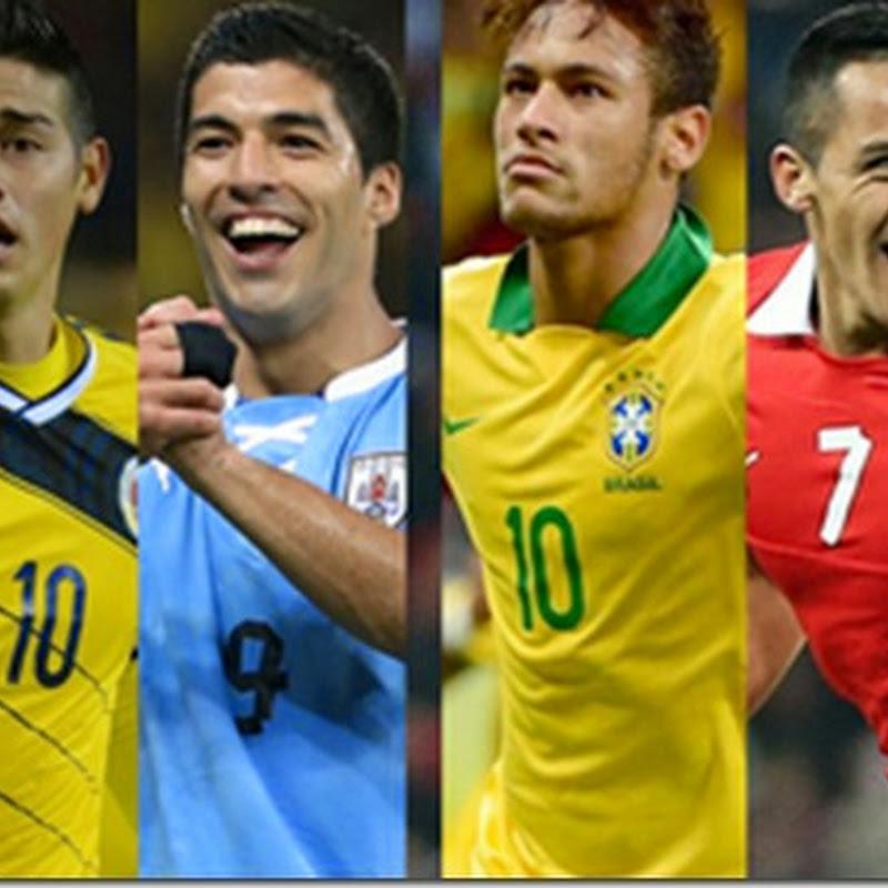 Sabor sudamericano hasta semifinales #Brasil2014