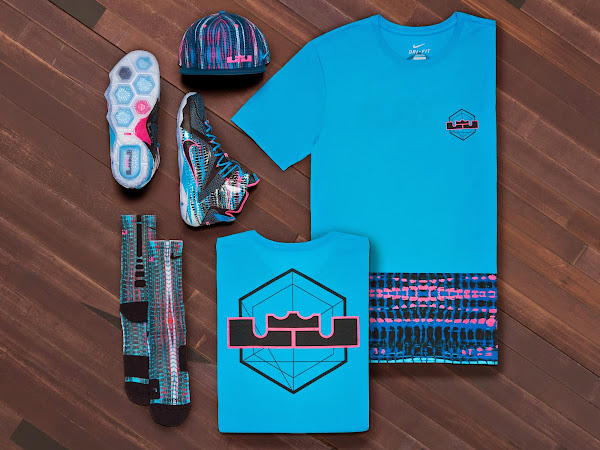 Official Look at Nike LeBron 12 822023 Chromosomes8221 Shoes and Apparel