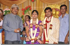 K.Bhagyaraj @ Major Dasan Daughter Wedding Reception Photos