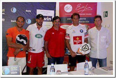 Padel Pro Tour y la Fundación Emilio Sánchez Vicario firman un acuerdo para fomentar las escuelas de pádel adaptado en España.