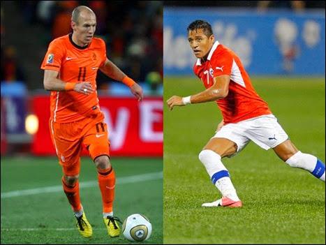 Chile y Holanda disputarán el primer puesto del Grupo B