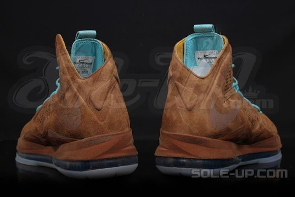 Upcoming Nike LeBron X EXT QS 8220Brown Suede8221 8211 Release Date