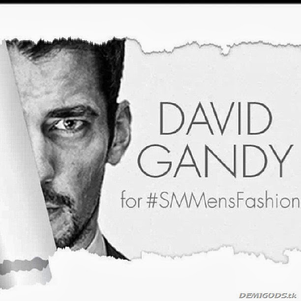 David Gandy for SM Mens fashion