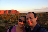 Self-Portrait:  Sunrise At Uluru - Yulara, Australia
