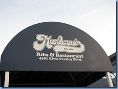 8099 Marlowe's Ribs & Restaraunt - Memphis, Tennessee