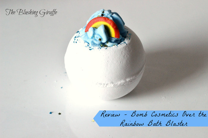 review bomb cosmetics over the rainbow bath blaster