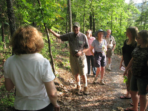 Rotary Club visiting the South Fork Nature Center