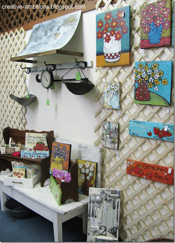 gallery wall booth