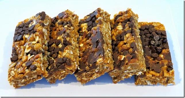 Chewy Coconut Oil Granola Bars (Gluten Free) 2