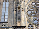 One of the many details on the St. Vitus Cathedral