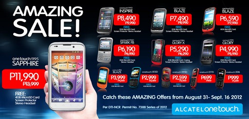 Alcatel Philippines Amazing Sale