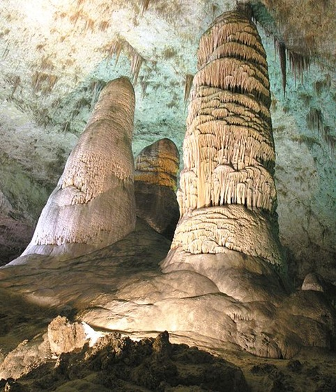 Hall of Giants, Carlsbad Caves, New Mexico